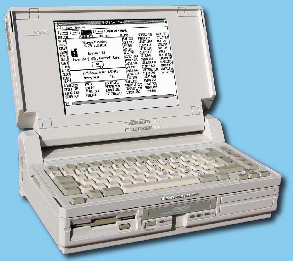 Compaq Portable SLT/286